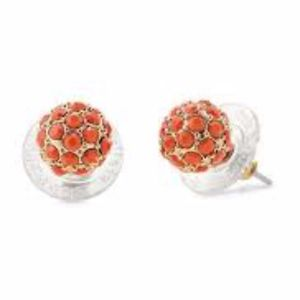 Soiree Studs - Coral (Retail: $24)